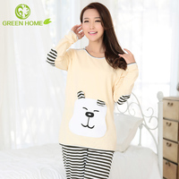 breathable cotton material smooth nighty design sleepwear