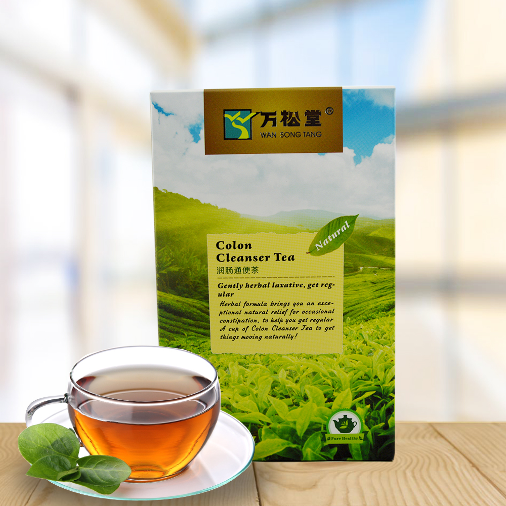 2018 best selling Natural super colon cleanse herba l tea private label