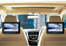 9 inch portable Car DVD player double monitors