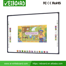 Classroom optica smart baord cheap interactive whiteboard 82""