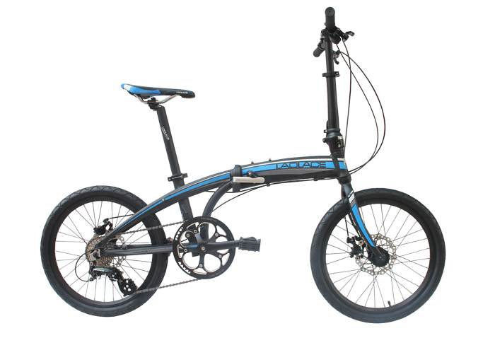 laplace V8 Mountain bike folding bicycle 8 speed bicicletas 20 inch standard double disc bicycle adult bikes unisex biycles