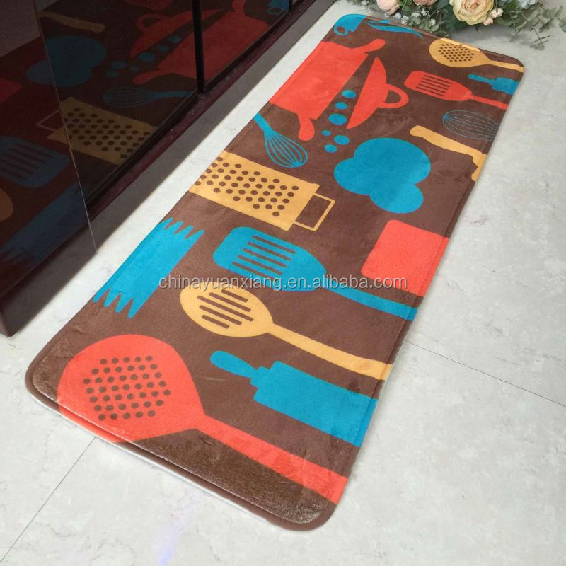 Anti Slip Printed Anti Fatigue Kitchen Mat