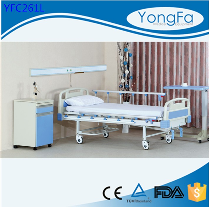 Top selling products 2016 YFC261L Hospital Bed Manufacturer With Mattress
