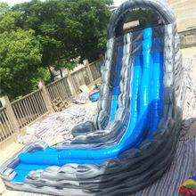 2014 best selling inflatable spiral water slide