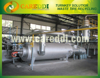 2013 Latest continuous pyrolysis machine used tires