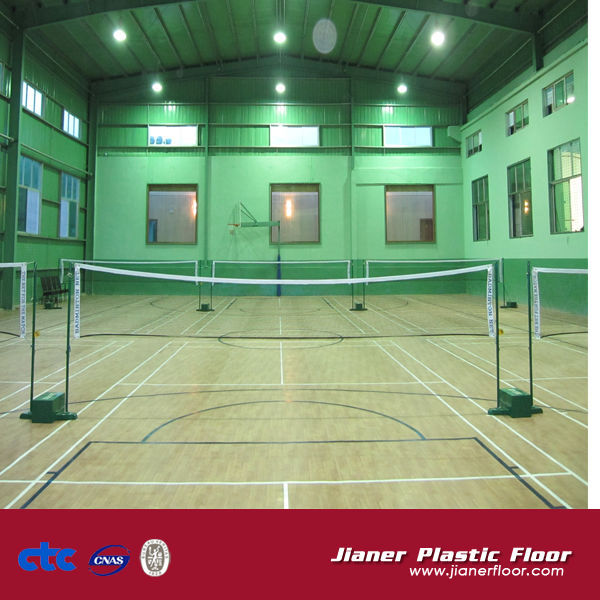 Multi Indoor PVC Badminton Basketball Sports Floor