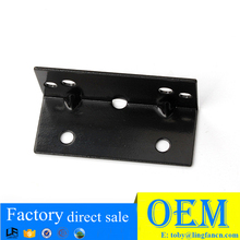 Furniture hardware black 90 degree angle iron corner bracket LF-7008