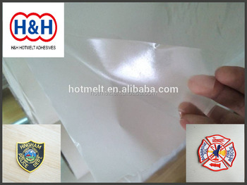 Embroidery Patches Glue/ PO Hot Melt Adhesive Film