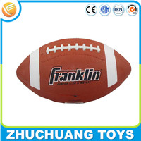 cheap kids toy rubber american football equipment wholesale