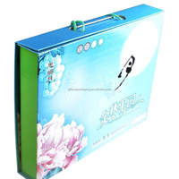 Professional moon cake packaging cardboard boxes for wholesales