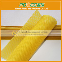 High Quality Pure Natural Bees Wax foundation sheet for beekeeping honey comb