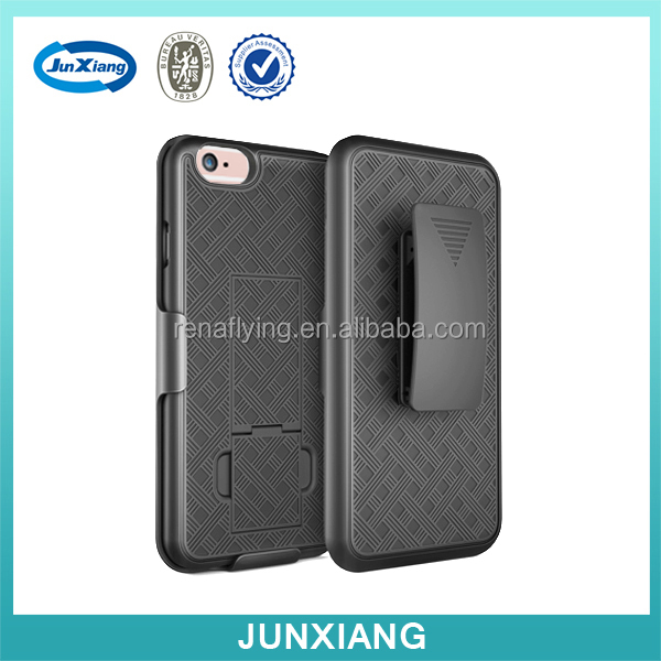 China supplier combo holster for iphone 6s with belt clip