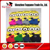 3D Cute Cartoon Despicable Me 2 Minion 3D Soft Silicone Case For iPad mini 4