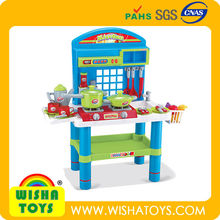 High Quality toys kitchen table/cooking toys play set for kids