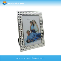 Table latest design of mirror animal shape double photo frame