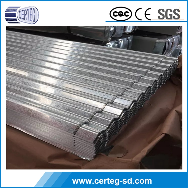 China Sheet Quality Steel roofing materials Galvanized sheet metal roofing price