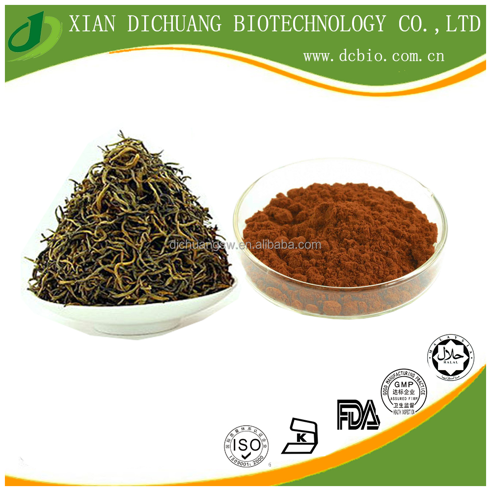 black tea extract powder tea polyphenols 30% UV