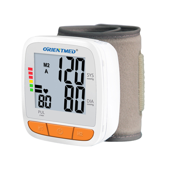 ORIENTMED electric digital wrist type blood pressure monitor