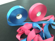white colorful polyester satin ribbon material of ribbon making flower