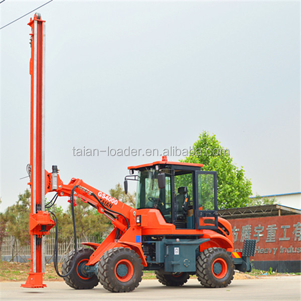 New and hot!!! Multi head drilling machine PD4000 hydraulic pile driving rigs for sale