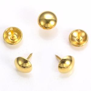 Sofa Decorative Bubble Nails for Furniture Nickle Gold Upholstery 9*17mm