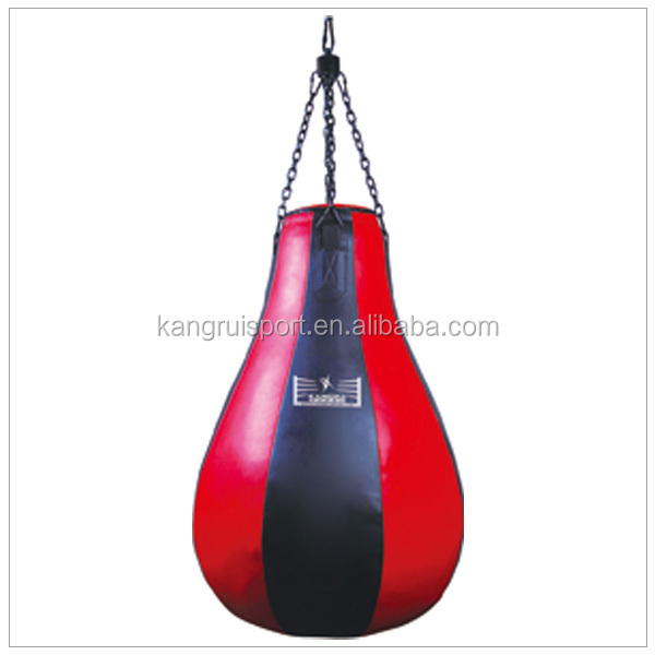 Pear shaped punch bag /leather boxing punch bags