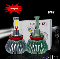 led headlight bulbs V6 , led canbus light ,2016 new led car headlight ,auto parts