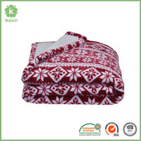 Wholesale Customized Printed Flannel Throw Blanket