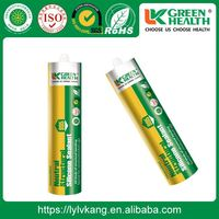 Fast Curing Odorless Construction Chemicals Silicone Sealant