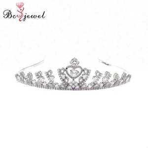 HG003 Top selling good quality fashion new simple fashion design Wholesale Imperial Full crystals Rhinestone kings crown tiaras