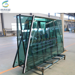 China leading manufacturer AS certification window glass sheet/glass wall panel/glass wall price philippines