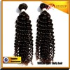 Hot sale Indian wave hair from Indian curly hair closures available