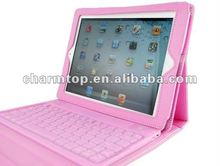Hot Selling for iPad 3 Leather Case With Keyboards