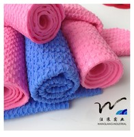 New product 3D texture softextile absorbent car cleaning washing chammy cloth PVA synthetic chamois towel