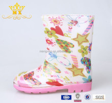 Pretty Pink Martin pvc martin rain boots from China