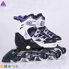 2016 popular factory price adult inline 4 wheel roller skate shoes