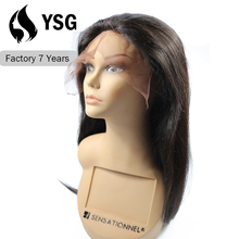 Big Discount! Factory Wholesale 100% Unprocessed protez hair Human Hair 200% density full lace wig