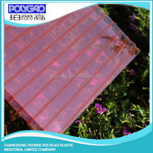 100% virgin lexan greenhouse polycarbonate hollow sunshine PC sheet