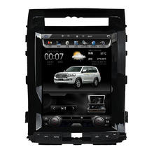 12.1 inch Android 4.4 Car DVD Player GPS Navigation for Toyota Land Cruiser