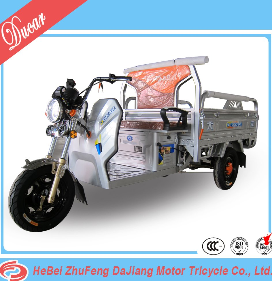 china ducar Feiying No.3 electric trike with 48V650W differential motor for cargo