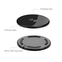 94v0 Best quality super rapid OEM travel wall wireless charger
