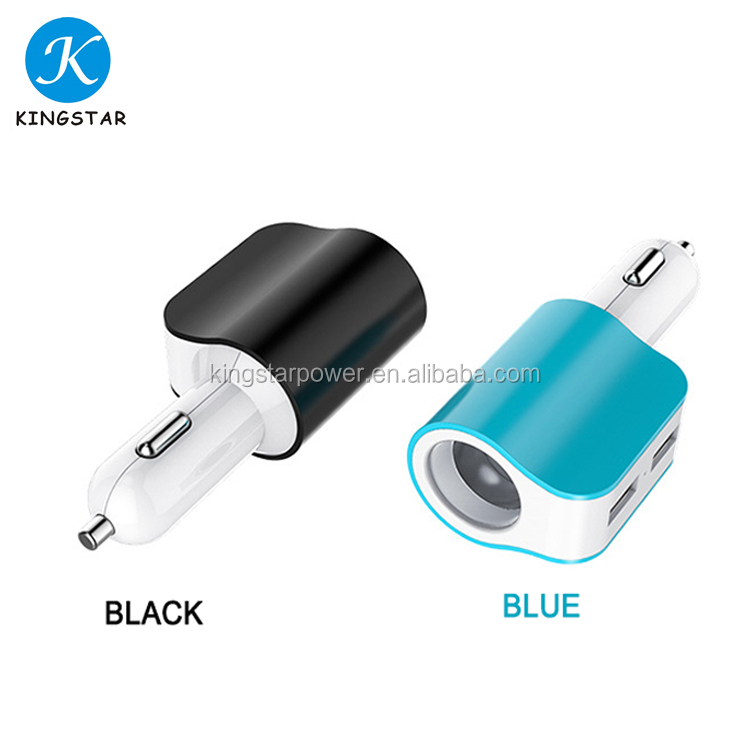 2017 New Arrival High Quality Car Battery Charger Cell Phone Dual USB Car Charger