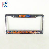 Promotional Custom Car License Plate Frame High Qualty License Plate Holder
