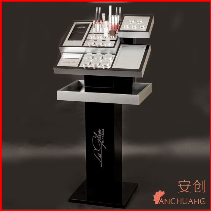 display cosmetics stand_cosmetics display picture