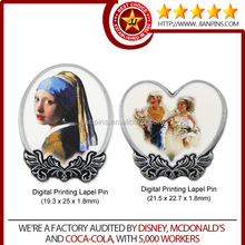 Art and Collectible Customized Digital Printing Lapel Pin/ Badge