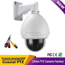 Outdoor Indoor Security CCTV Full HD Analog High Speed Dome PTZ Camera 20X ZOOM Auto Focus IP66 Pan Tilt Without LEDs for church