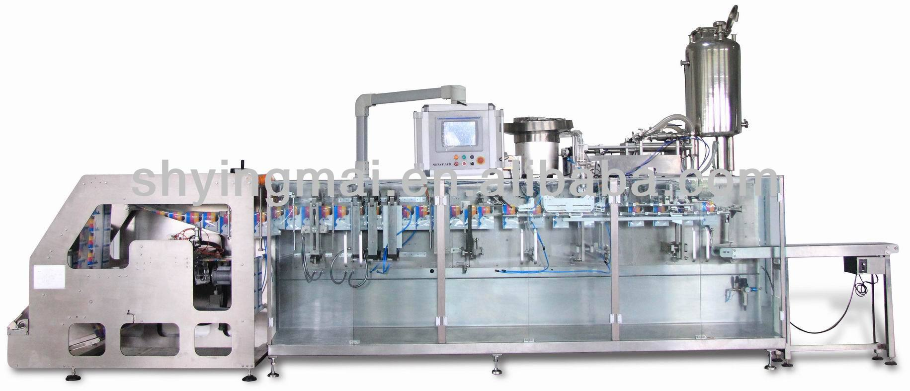 Horizontal Form Fill Seal water soluble powder Packaging Machine