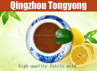 Crops Plant Growth Regulators Green 100% Water Solubility High Quality Fulvic Acid Fertilizer made in China