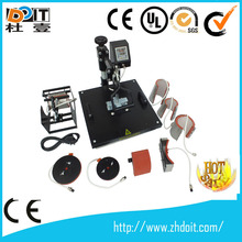 8 in 1 sublimation machine,combo heat press machine 8in 1,heat press 8 in 1