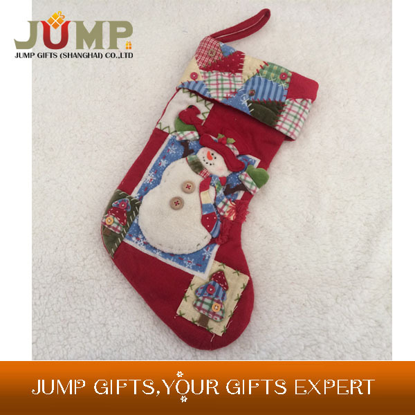 Top quality Christmas stockings, 2015 new reminiscence style Christmas stocking